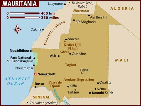map_of_mauritania